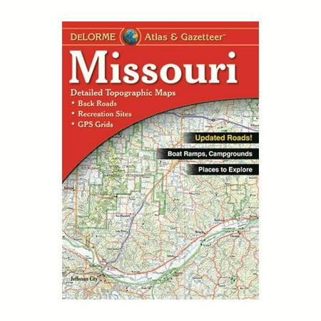 - Delorme Missouri Atlas & Gazetteer