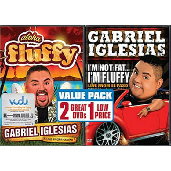 Gabriel Iglesias Aloha Fluffy Im Not Fat Im Fluffy 2 Pack