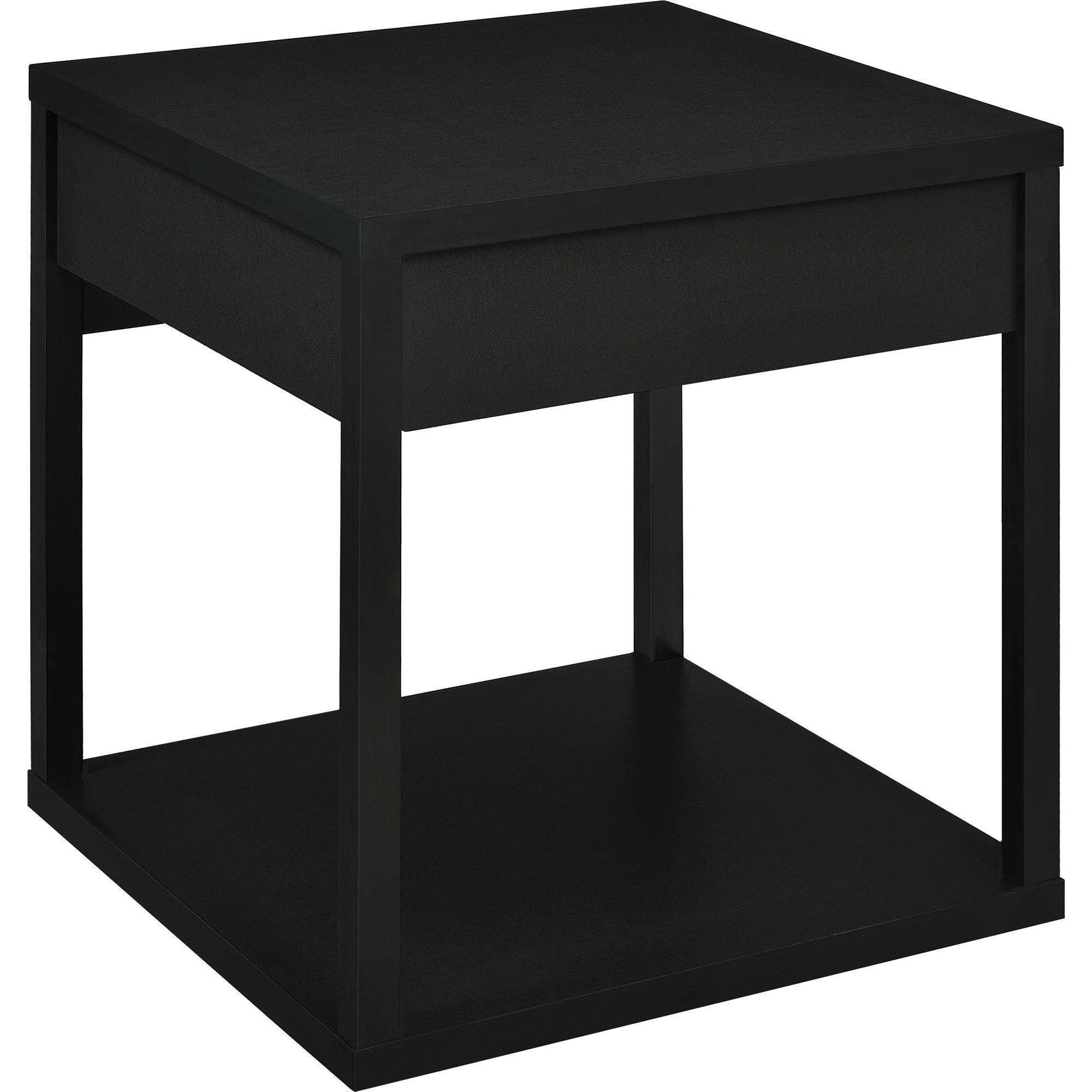Bon Mainstays Parsons End Table With Drawer, Multiple Colors   Walmart.com