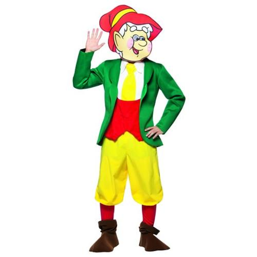 Rasta Imposta Keebler Elves Outfit Ernie Elf Adult Halloween Costume](Rasta Woman Halloween Costume)