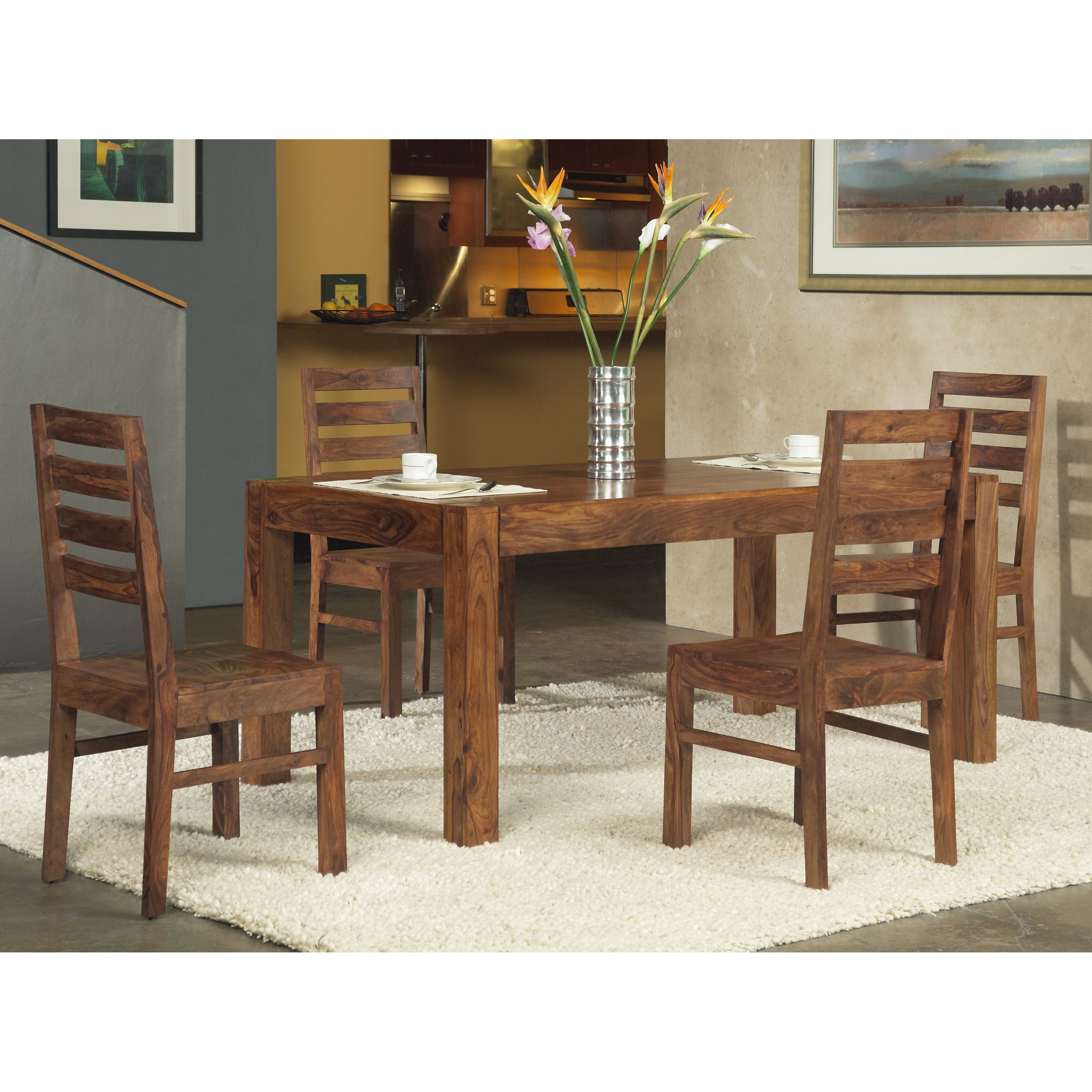 Modus Genus 5 Piece Dining Table Set by Modus Furniture International