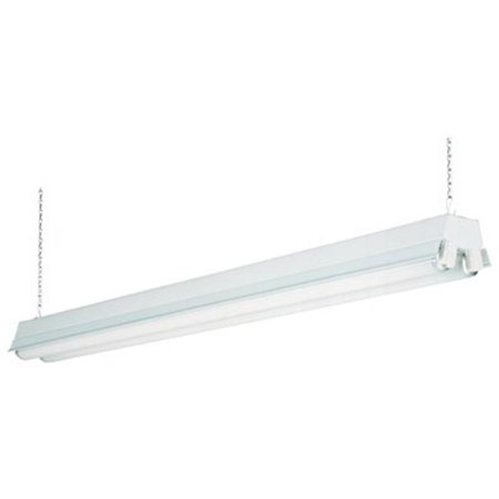 1233 RE 4 ft. White - 2 Light T8 Fluorescent Residential Shop Light ...