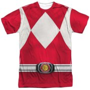 Power Rangers - Red Ranger (Front/Back Print) - Short Sleeve Shirt - XX-Large
