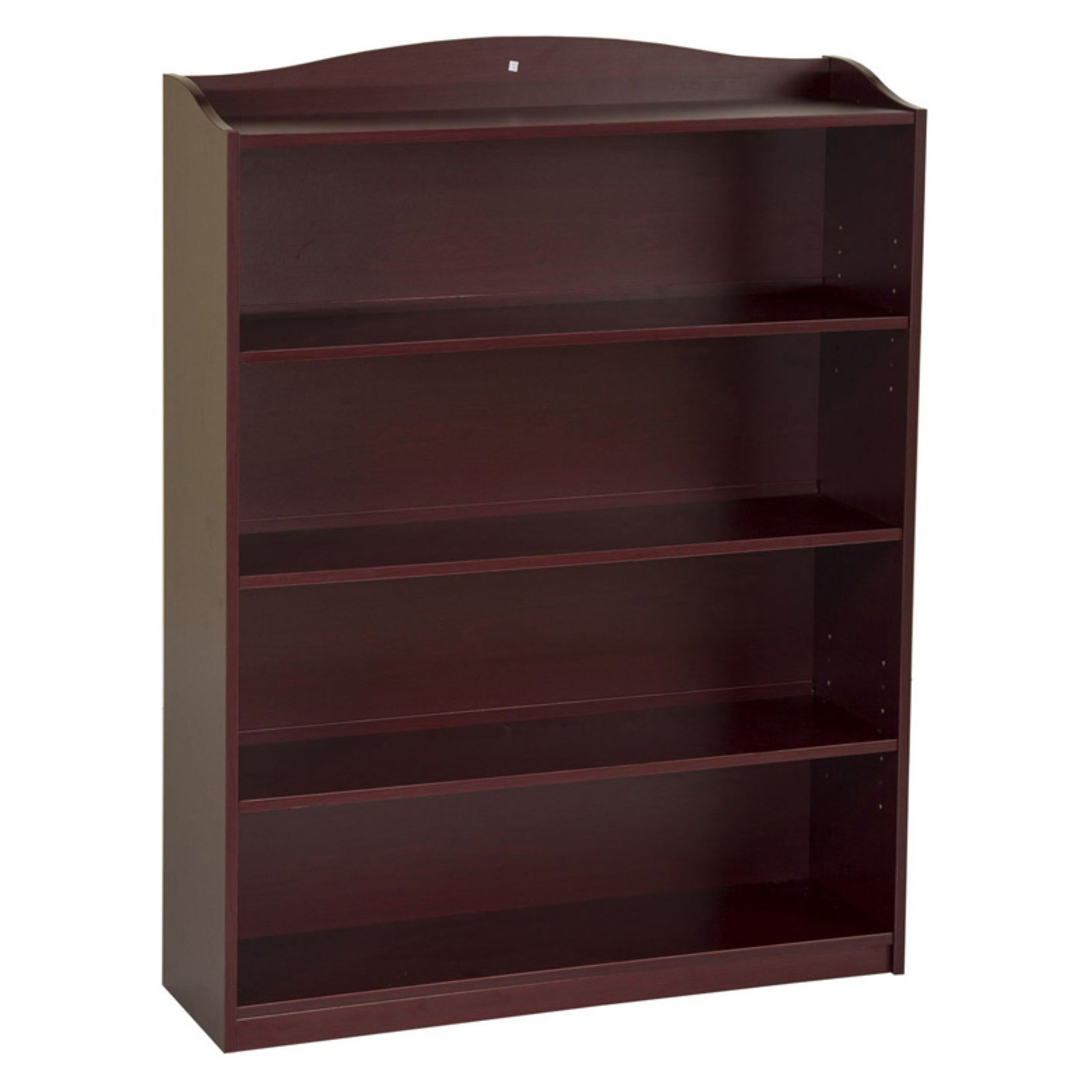 Guidecraft 5-Shelf Bookshelf, Cherry