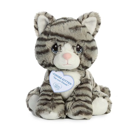 Cinder Kitten 8 Inch - Stuffed Animal by Precious Moments (15795)