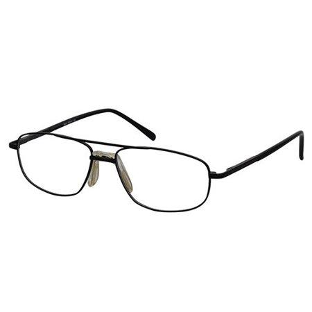 Ebe Men Black Wayfarer Full Rim Spring Hinge Eyewear Reading Glasses (Wayfarer Glasses Men)
