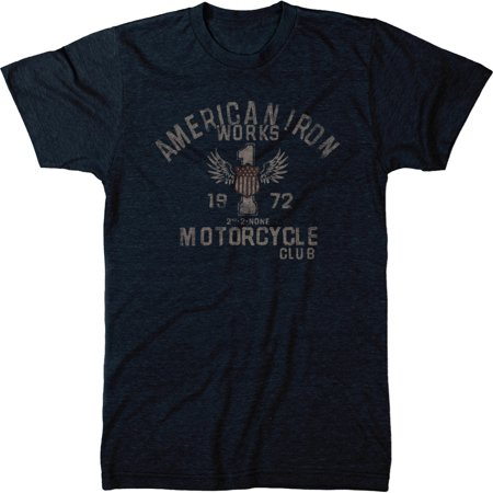 American Iron Works M.C. Mens Modern Fit Tri-blend T-shirt Iron Works T-shirt