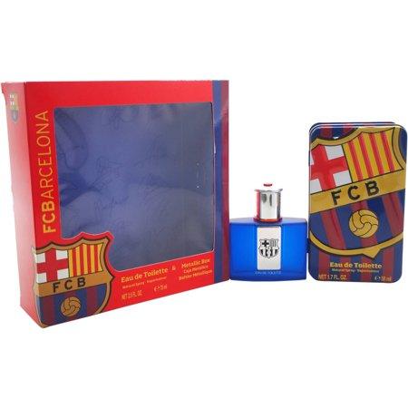 Air Val International Fc Barcelona Fragrance Gift Set  2 Pc