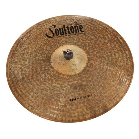 - Soultone Cymbals NTR-BBRID18 18 in. Natural Big Bell Ride
