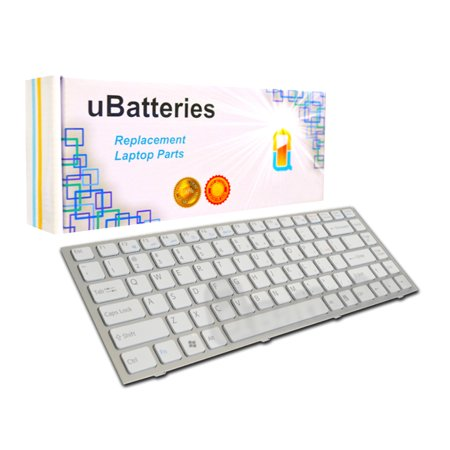 - UBatteries Laptop Keyboard Sony VAIO VPC-S - Silver