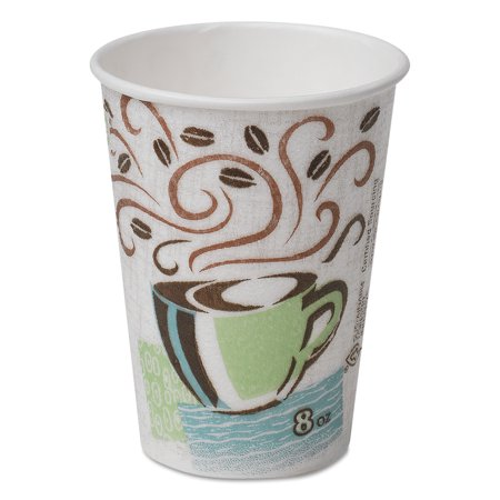 Dixie Perfectouch 8oz Insulated Paper Hot Cups Disposable Coffee 5338cd