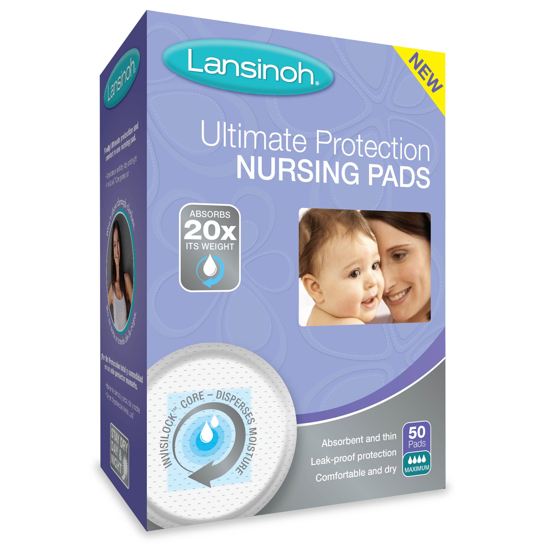 Lansinoh Ultimate Protection Nursing Pads 50 ea