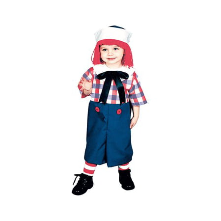 Raggedy Andy Toddler 2 To 4 - Raggedy Andy Costumes