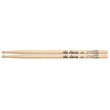 "Jen Ledger Signature Series Drum Sticks, Quantity & Sizing (Pairs) Quantity:1 Type: Sticks Drum Stick Size: Custom Diameter: .588"" Length: 16-1/2"".., By Vic Firth Ship from US"