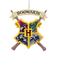 Hallmark Harry Potter Hogwarts Crest Christmas Ornaments