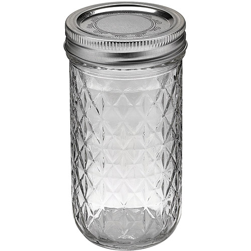 Ball Quilted Crystal Jelly Jars Walmart Com