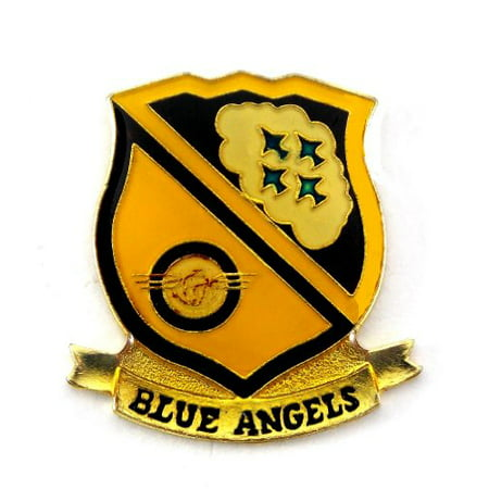 State Design Lapel Pin - United States Navy Blue Angels Insignia Lapel Hat Pin Military PPM817 (1 pin)