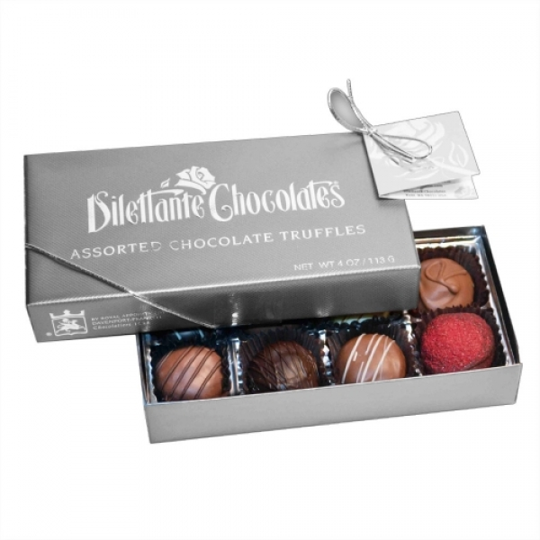 4 Oz Deluxe Gourmet Chocolate Truffle Assortment PACK Of 2 by