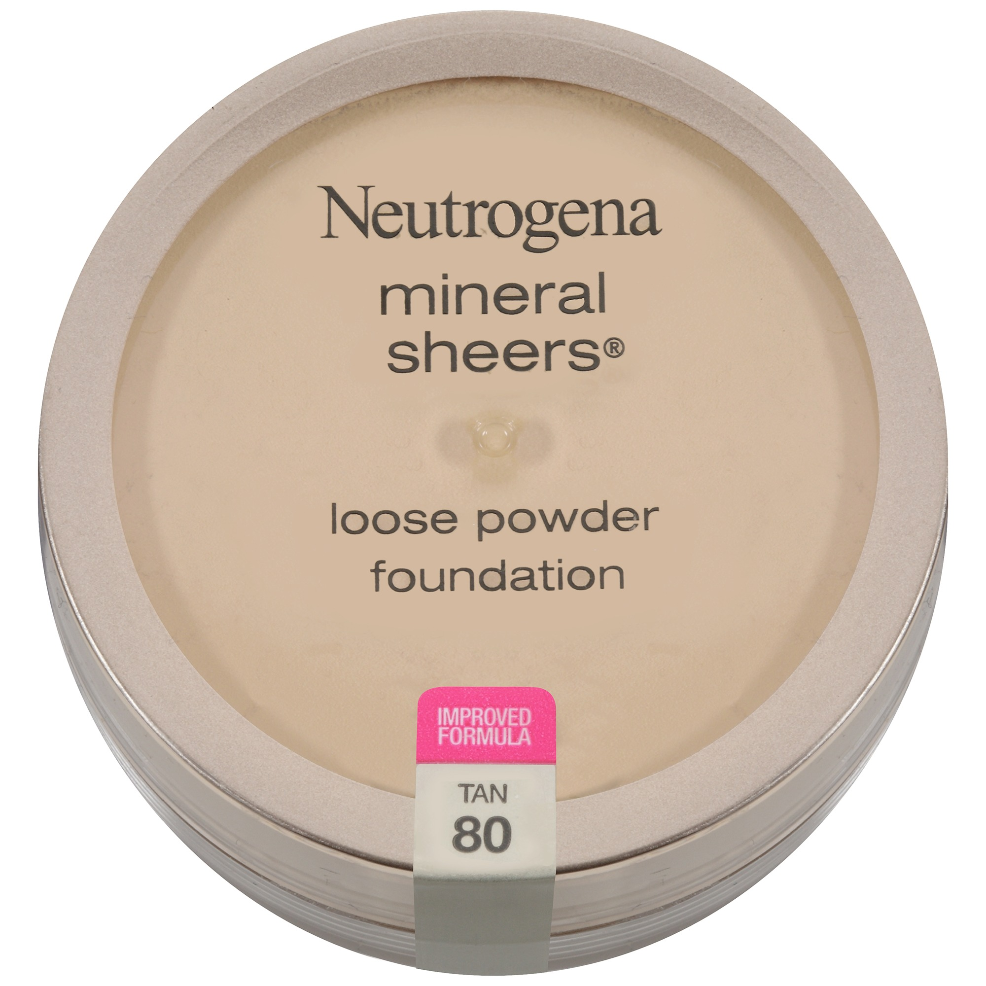 Neutrogena Mineral Sheers Loose Powder Foundation,Tan 80, .19 Oz