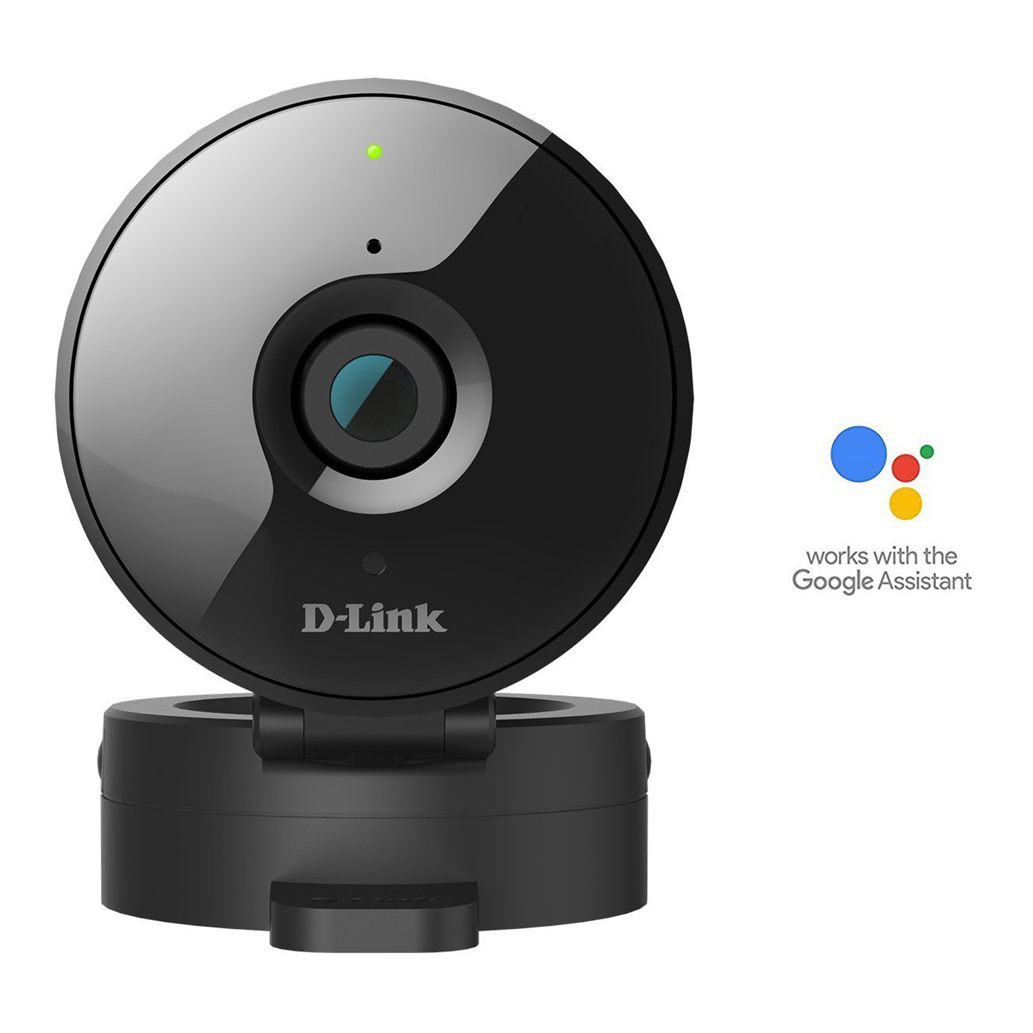 Refurbished D-Link HD WiFi 720P Home Security Camera with Night Vision - DCS-936L, Works with Google Assistant