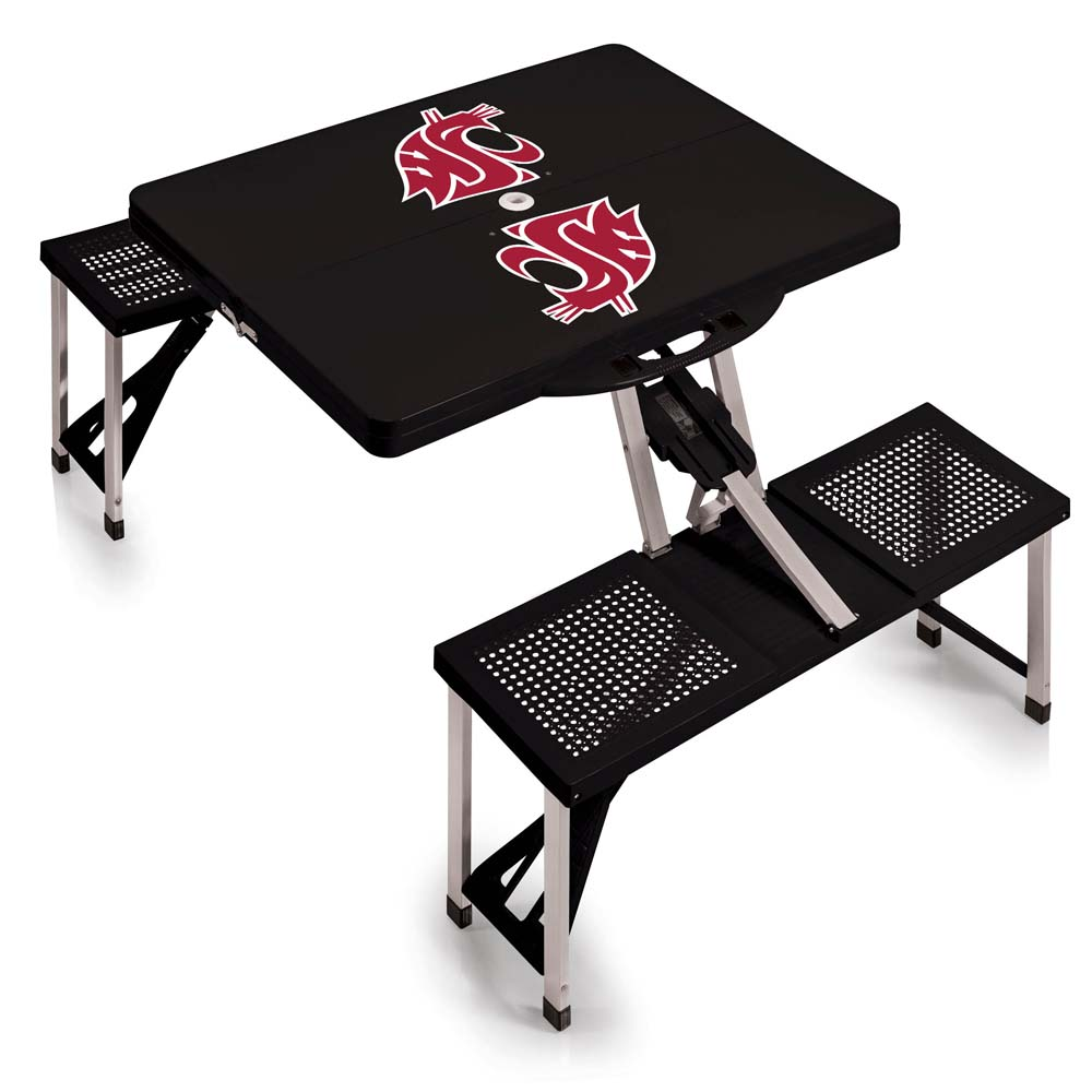Washington State Picnic Table (Black)