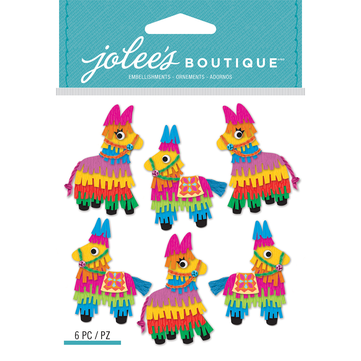 Jolee's Boutique Dimensional Stickers-Mini Pinata