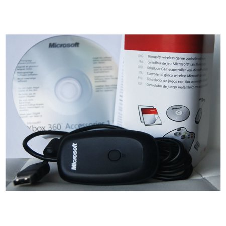 Xbox 360 Microsoft Authentic Wireless Pc Gaming Receiver for Windows (In Bulk Packaging) ()