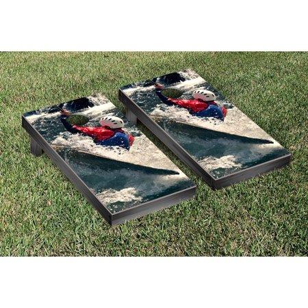 Whitewater Kayaking Cornhole Game Set