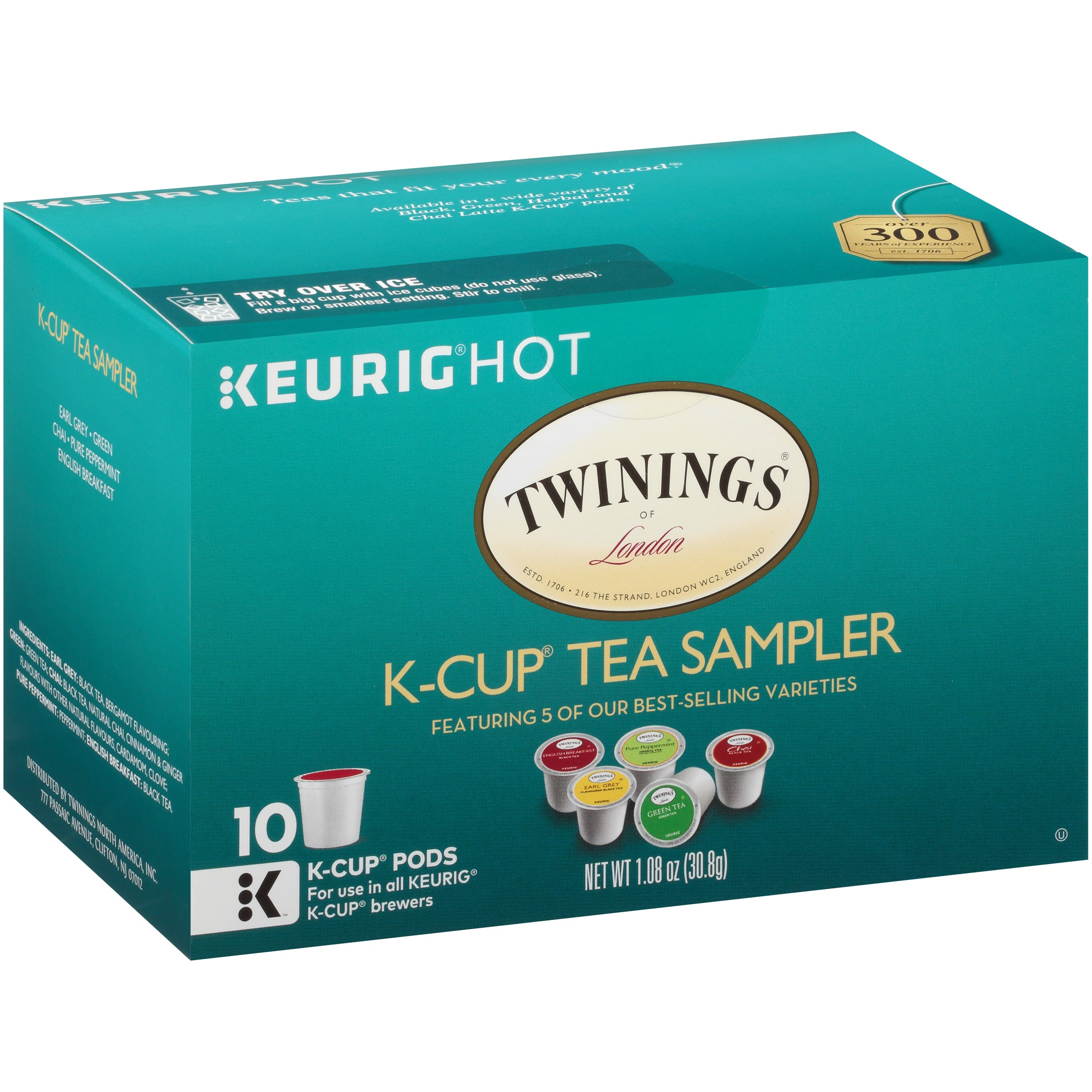 Twinings of London® K-Cup® Tea Sampler 1.08 oz. Box