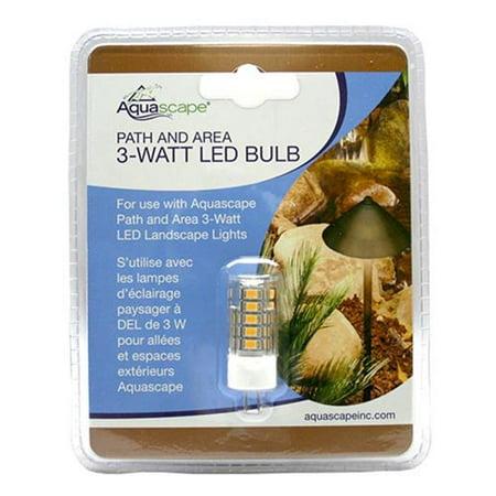 aquascape 84067 path area landscape light 3 watt led replacement