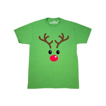 Reindeer Face T-Shirt (Reindeer Face)
