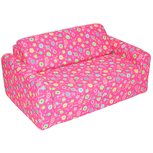 Kids Sofa Sleeper Pink Flower Walmartcom