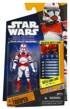 Star Wars Saga Legends 2010 Shock Trooper Action Figure by