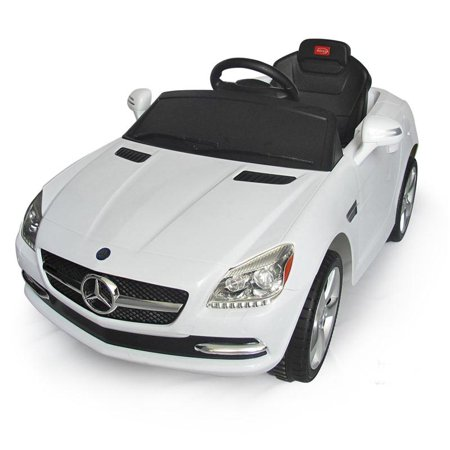 mercedes benz slk kids 6v electric ride on toy car w