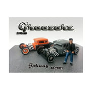 Greezerz Johnny Figure For 1:24 Diecast Model Cars by American Diorama