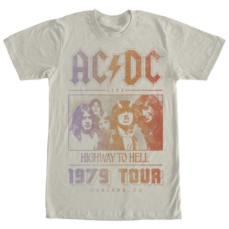 AC/DC Men's Highway to Hell Tour T-Shirt