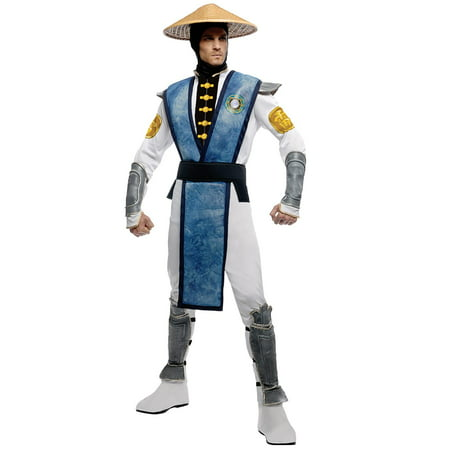 Womens Mortal Kombat Costumes (Mortal Kombat Raiden Adult Costume -)