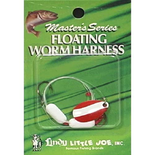 FL.WORM HARNESS RD/WHT BLD/WHT - Color, Red White White