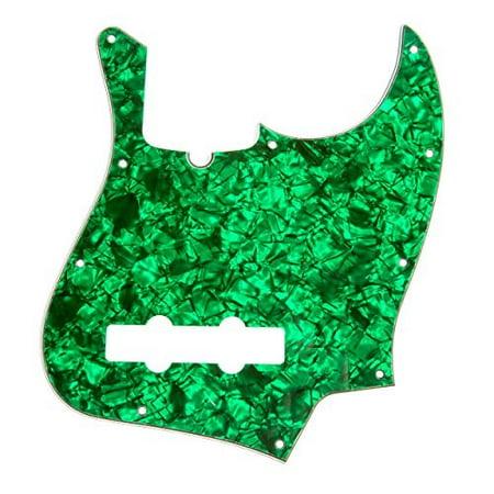 dandrea jazz bass pickguards for electric guitar, green pearl
