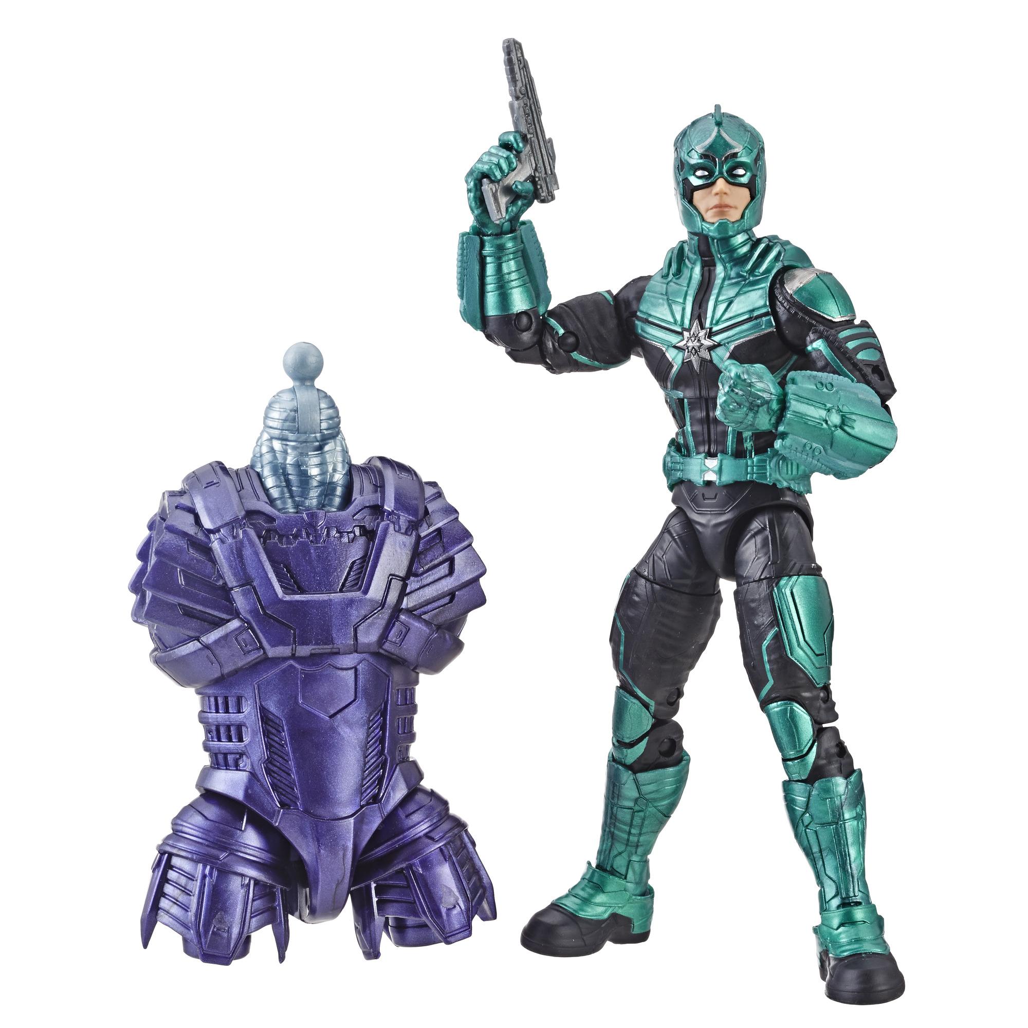 Marvel Captain Marvel Legends Yon-Rogg Kree Figure for Collectors