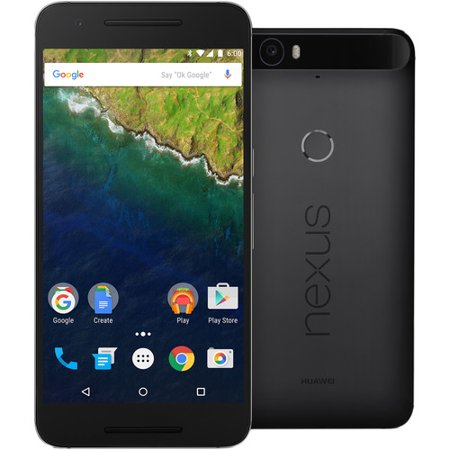 Huawei Nexus 6P Verizon/Unlocked Black 32GB (Scratch and Dent)