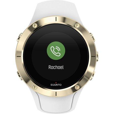 Suunto Spartan Trainer Wrist HR Steel Watch, White/Gold ...