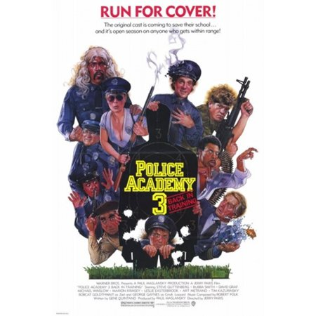 Police Academy 3 Back in Training Movie Poster (11 x 17)