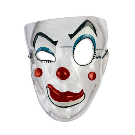 Transparent Mask - Clown Halloween Costume - Halloween Mask Scary Clown