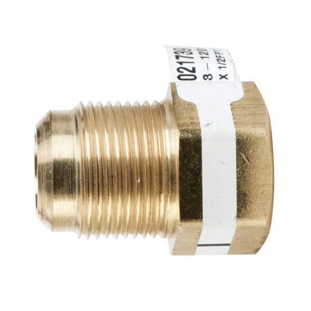 JMF  3/4 in. Flare   x 1/2 in. Dia. Female  Brass