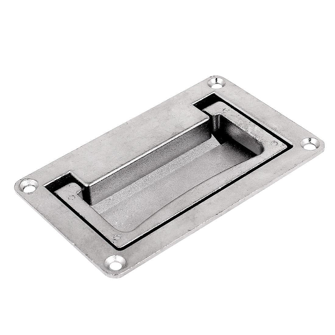 Door drawer 11cm x 7cm stainless steel recessed flush sliding carry
