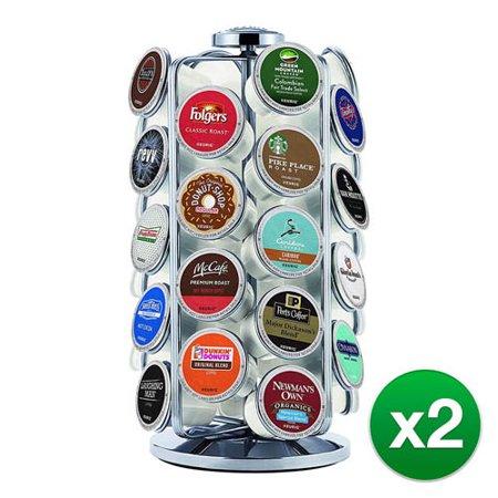 Keurig 5000196801 KCup Pod Carousel Coffee Machine Accessory, 36 Ct, Chrome