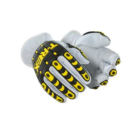 Magid T-REX TRX840 Goatskin Kevlar-Lined Driver Impact Glove-Cut Level A5-SZ L - T Rex Gloves