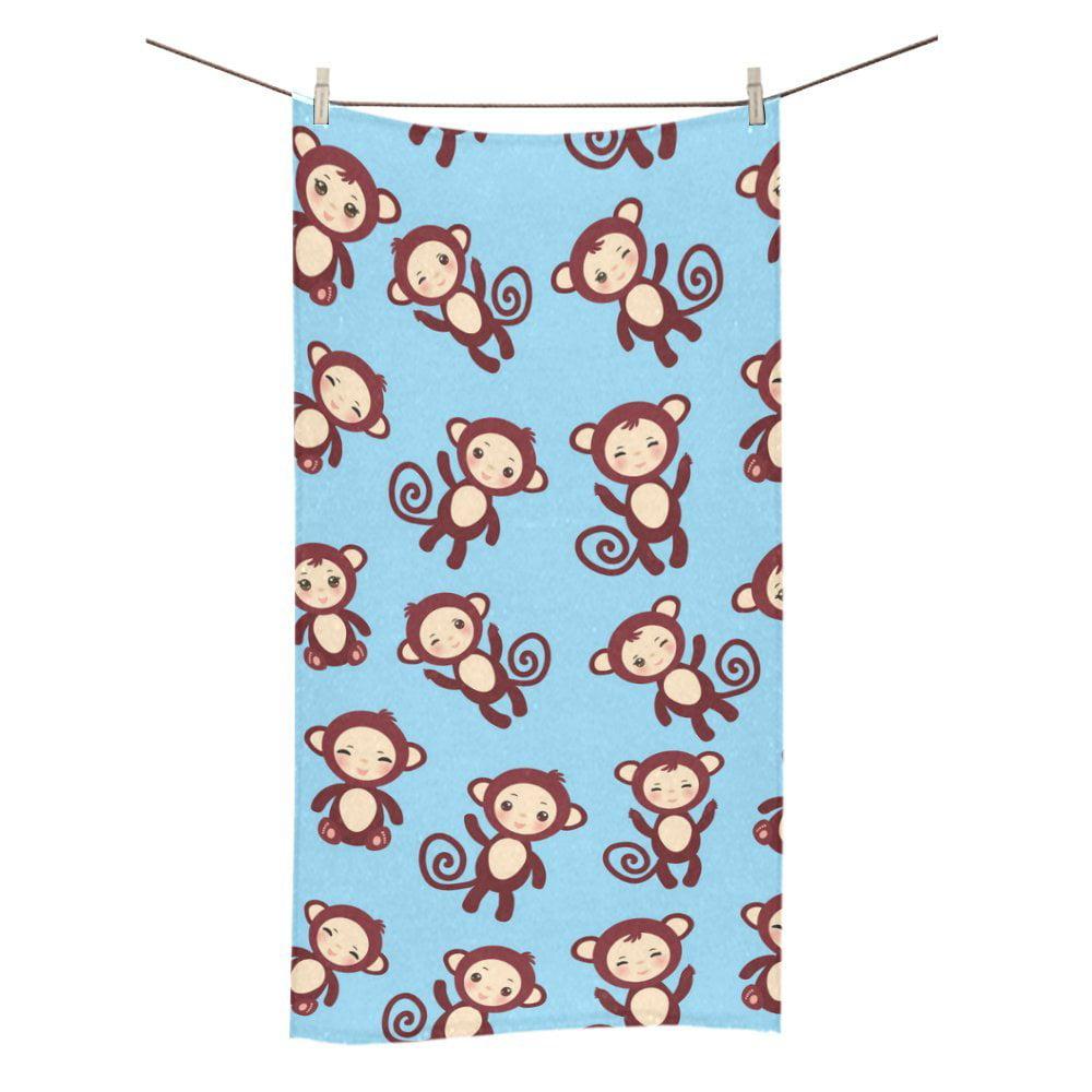 Monkey Bathroom Set Walmart: MKHERT Monkey Bath Towel Hand Towel Shower Towel Washcloth
