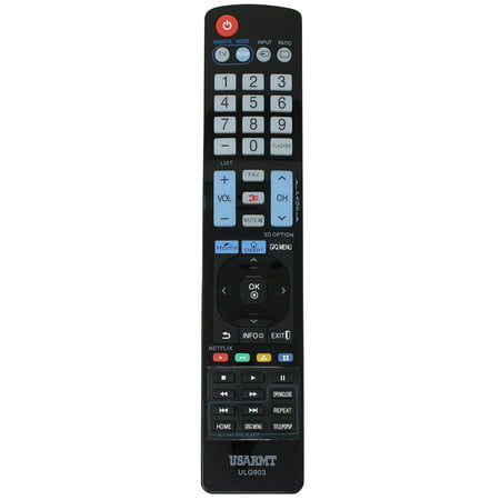 Replacement 42LC5DC TV Remote Control for LG TV - Compatible with AGF76692608 LG TV Remote Control - image 3 of 3